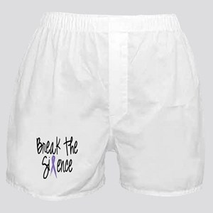 Speak Out Say No Boxer Shorts