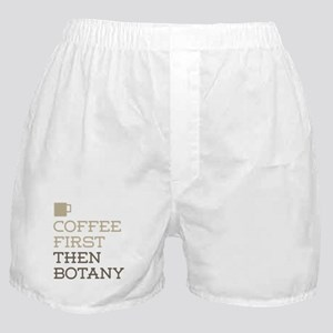 Coffee Then Botany Boxer Shorts