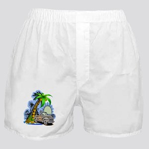 Tropical Scene Boxer Shorts
