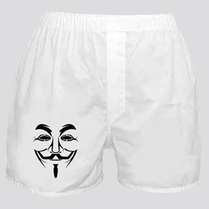 Anonymous Mask Boxer Shorts