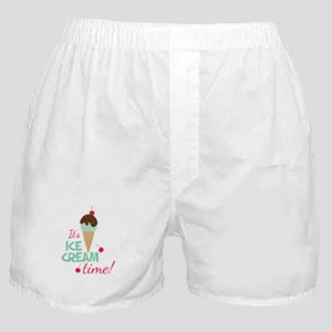 Ice Cream Time Boxer Shorts