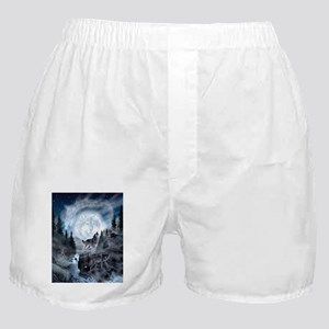 spirt of the wolf Boxer Shorts
