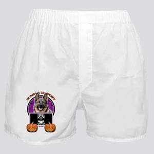 Just a Lil Spooky Shepherd Boxer Shorts