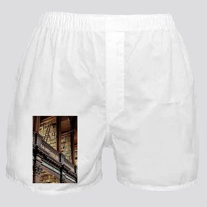 Classic Literary Library Books Boxer Shorts