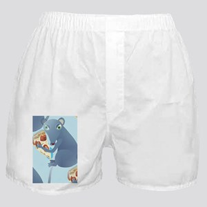 pizza rat Boxer Shorts