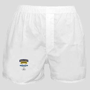 SF Ranger CIB Airborne Master Boxer Shorts