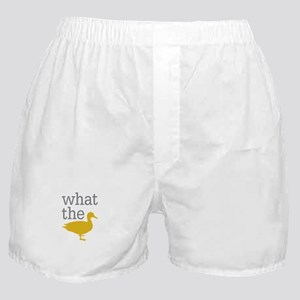 What The Duck? Boxer Shorts