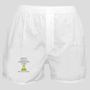 Chemistry Joke Boxer Shorts