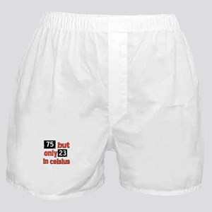 75 year old designs Boxer Shorts