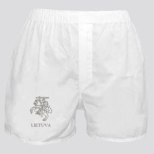 Retro Lithuania Boxer Shorts