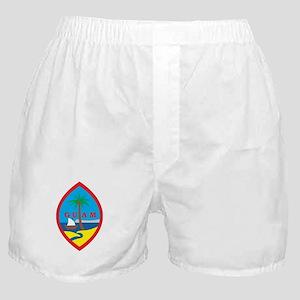 Guam Coat Of Arms Boxer Shorts