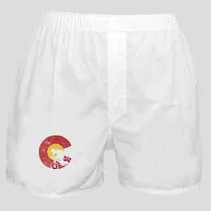 Mountain Bike Colorado Boxer Shorts