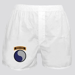 29th Infantry Div with Recon Boxer Shorts