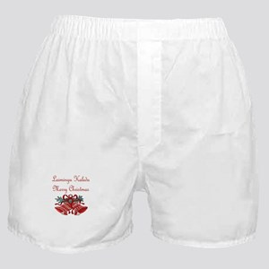 Lithuanian Christmas Boxer Shorts