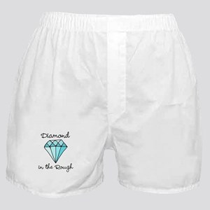 'Diamond in the Rough' Boxer Shorts