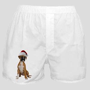 Santa Boxer Boxer Shorts
