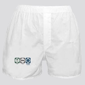 Eat Sleep Air Traffic Control Boxer Shorts