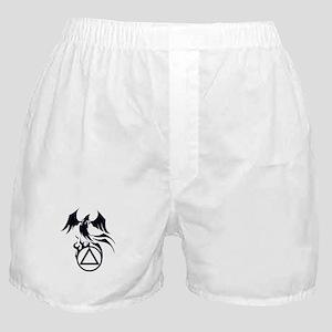 A.A. Logo Phoenix B&W - Boxer Shorts