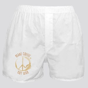 Make Coffee Boxer Shorts