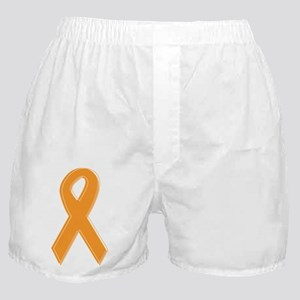 Orange Aware Ribbon Boxer Shorts