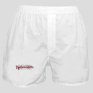 Taekwondo Red Boxer Shorts
