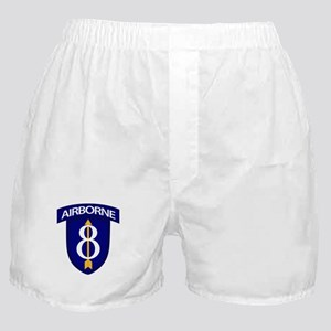 8th Infantry Airborne Boxer Shorts