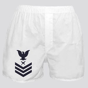 USCG-Rank-IS1-Blue-Crow- Boxer Shorts