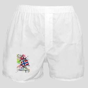 Flower Norway Boxer Shorts