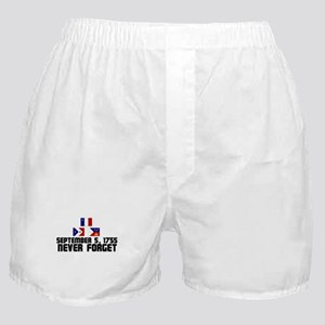 Never Forget w/ Flags Boxer Shorts