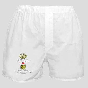 Med School Brain Boxer Shorts