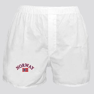 Norway Soccer Designs Boxer Shorts