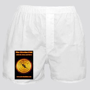 The Glowing Dial_page type logo (5x8) Boxer Shorts