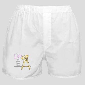 Yellow Lab BF Boxer Shorts