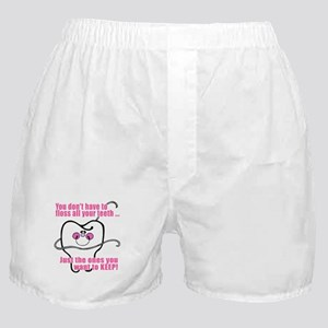 You don't have to floss Boxer Shorts