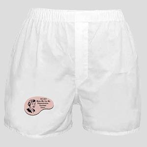 Administrative Assistant Voice Boxer Shorts