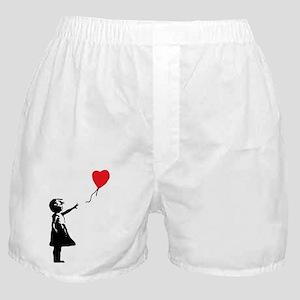 Banksy - Little Girl with Ballon Boxer Shorts