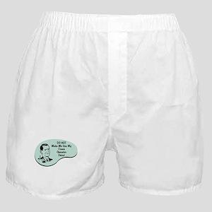 Crane Operator Voice Boxer Shorts