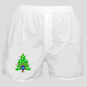 Christmas Hanukkah Interfaith Boxer Shorts