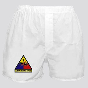 1st Armored Division Boxer Shorts