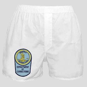 Virginia Corrections Boxer Shorts