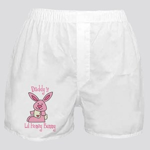 Daddy's Lil' Honey Bunny Boxer Shorts