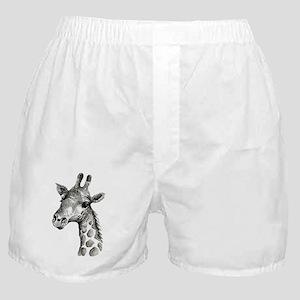 Large Giraffe Inked Boxer Shorts