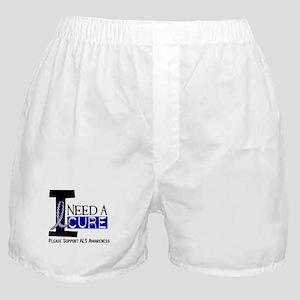 I Need A Cure ALS Boxer Shorts
