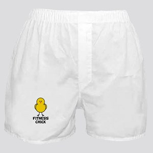 Fitness Chick Boxer Shorts