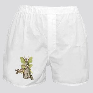 Reindeer Guardian victorian angel Boxer Shorts