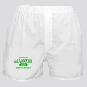 Jalapeno University Pepper Boxer Shorts