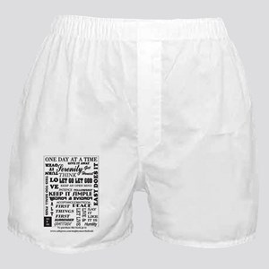 12 step back cover. Boxer Shorts