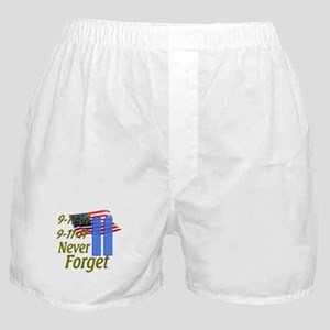 9-11 / Flag / Never Forget Boxer Shorts