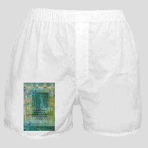 Buddha quote art Boxer Shorts