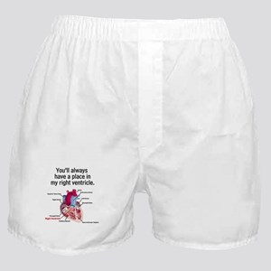 My Right Ventricle Boxer Shorts